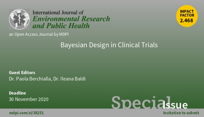 Call for papers on Bayesian Design in Clinical Trials